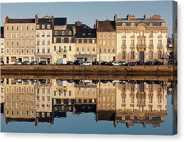 France, Normandy, Cherbourg-octeville Canvas Print by Walter Bibikow