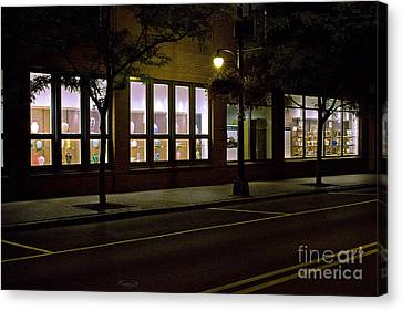 Frederick Carter Storefront 2 Canvas Print by Tom Doud