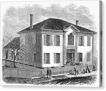 Freedmen School, 1867 Canvas Print by Granger
