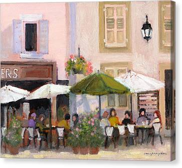 French Country Cafe Il Canvas Print by J Reifsnyder