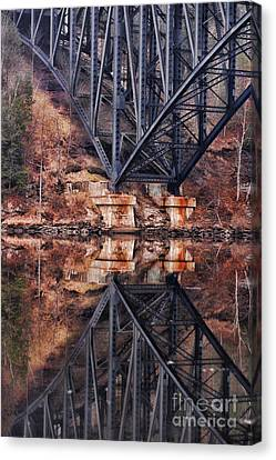 French King Bridge Canvas Print by HD Connelly