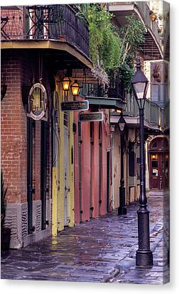 French Quarter, New Orleans, Louisiana Canvas Print