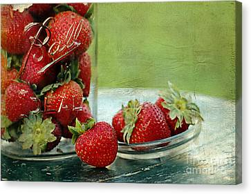 Fresh Berries Canvas Print by Darren Fisher