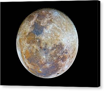 Full Moon Canvas Print by Luis Argerich