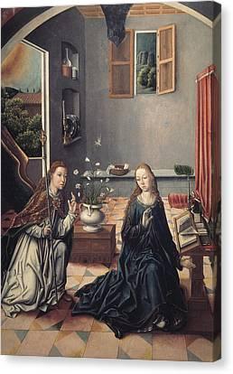 The Sacred Feminine Canvas Print - Gallego, Fernando 1440-1507. The by Everett