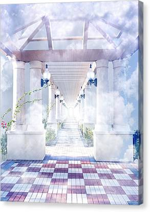 Gateway To Heaven Canvas Print by Rudy Umans