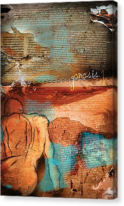 Genesis 1 Canvas Print