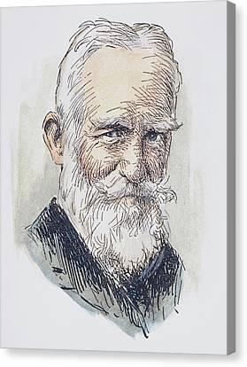 Sturges Canvas Print - George Bernard Shaw (1856-1950) by Granger