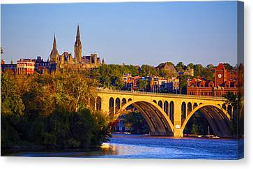 Georgetown Canvas Print by Mitch Cat