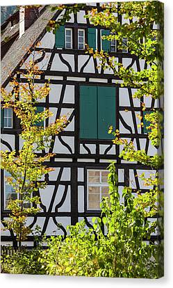 Germany, Baden-wurttemberg, Black Canvas Print by Walter Bibikow