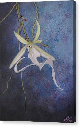 Ghost Orchid II Canvas Print