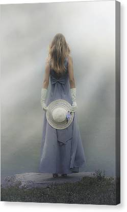 Girl With Sun Hat Canvas Print by Joana Kruse