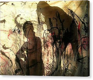 2 Girls Canvas Print by Dietrich ralph  Katz