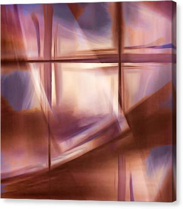 Glass Abstract Canvas Print