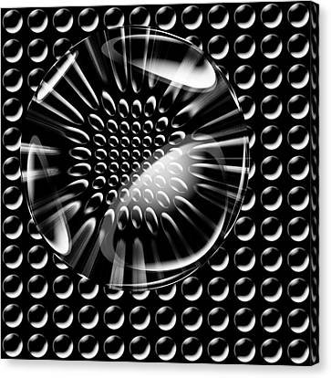 Glass Ball Canvas Print by Evgeniy Lankin