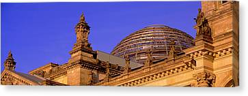 Glass Dome Reichstag Berlin Germany Canvas Print