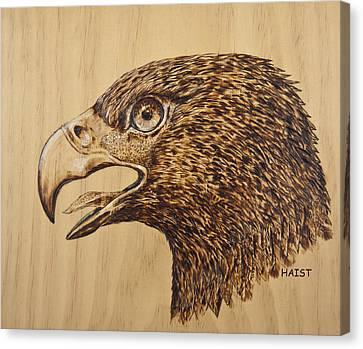 Golden Eagle Canvas Print by Ron Haist