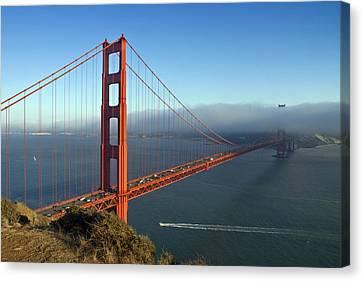 Golden Gate Bridge Canvas Print by Melanie Viola