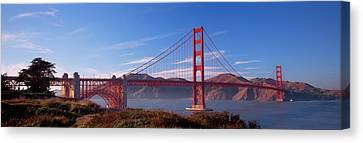 Golden Gate Bridge San Francisco Canvas Print by Panoramic Images