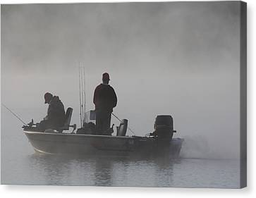 Gone Fishing Canvas Print by Bruce Bley