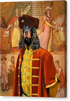 Gordon  Setter Art Canvas Print Canvas Print
