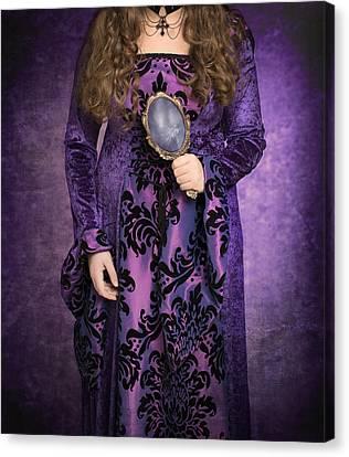 Gothic Woman Canvas Print by Amanda Elwell