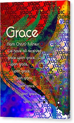 Grace Canvas Print by Chuck Mountain