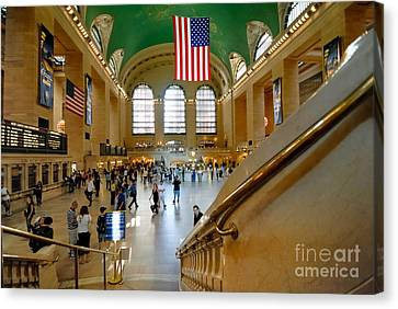 Grand Central Station New York City Canvas Print by Amy Cicconi