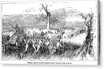Great Sioux War, 1876 Canvas Print by Granger