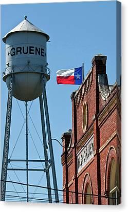 Gruene, New Braunfels, Texas Historic Canvas Print
