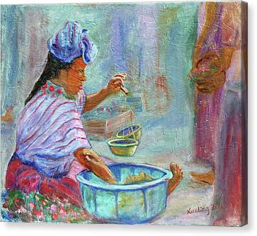 Guatemala Impression Iv Canvas Print by Xueling Zou