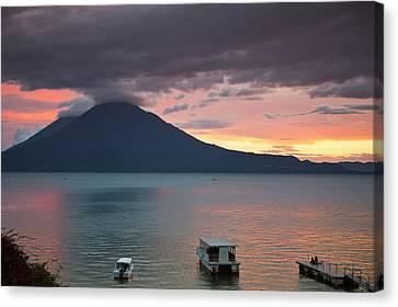 Guatemala, San Juan La Laguna Canvas Print by Michael Defreitas