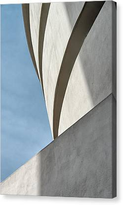 Canvas Print featuring the photograph Guggenheim Museum by James Howe