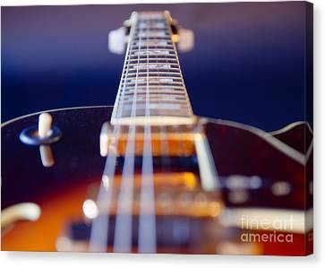 Guitar Canvas Print by Stelios Kleanthous