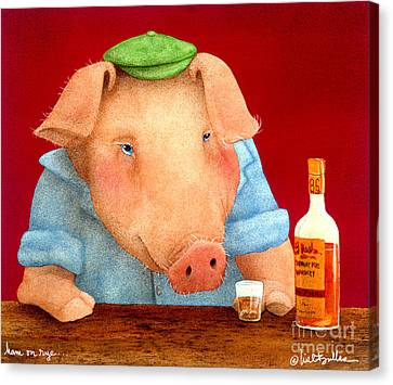 Ham On Rye... Canvas Print by Will Bullas