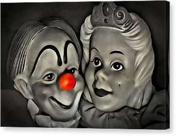 Happy Couple Canvas Print