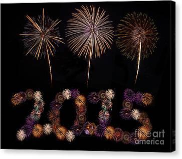 Happy New Year Canvas Print by Anek Suwannaphoom