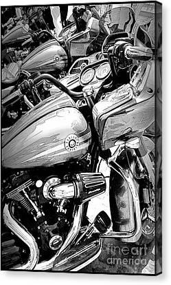 Harley Davidson Canvas Print