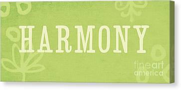 Harmony Canvas Print by Linda Woods