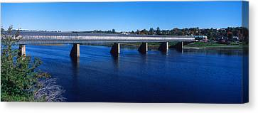 Hartland Bridge, Worlds Longest Covered Canvas Print by Panoramic Images