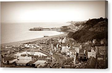 Hastings Canvas Print by Sharon Lisa Clarke