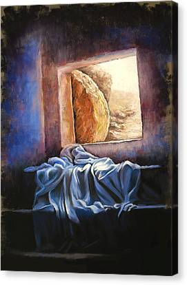 He Is Risen Canvas Print