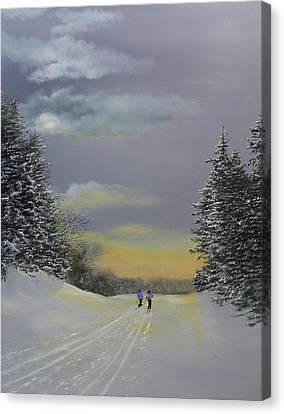 Heading Home Canvas Print by Ken Ahlering