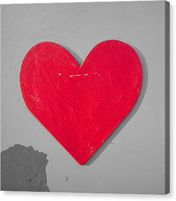 Heart Shape Canvas Print by Tom Gowanlock