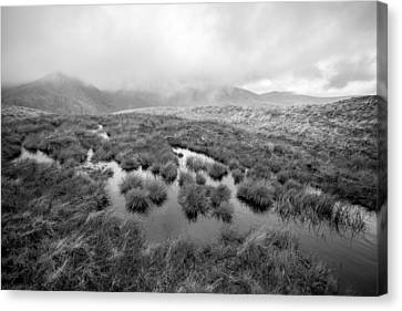 Helvellyn Canvas Print by Mike Taylor