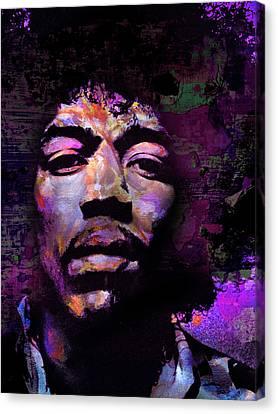 Hendrix Canvas Print by Mal Bray
