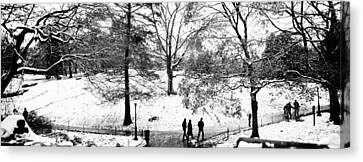 Enjoyment Canvas Print - High Angle View Of A Group Of People by Panoramic Images