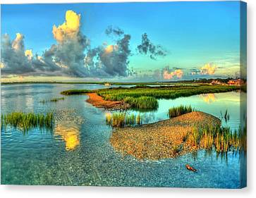 High Tide Canvas Print by Ed Roberts