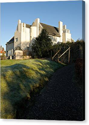 Hill House Canvas Print by Stephen Taylor