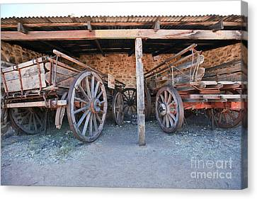 Historical Telegraph Station Alice Springs Central Australia  Canvas Print